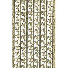 STICKER / AUTOCOLLANT Glitter Klistermærker, rensdyr