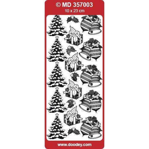 Sticker Autocollants en relief détaillées, des motifs de Noël