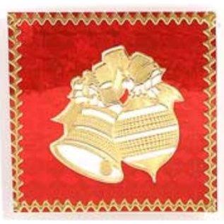 STICKER / AUTOCOLLANT Gedetailleerde reliëf stickers, kerst motieven