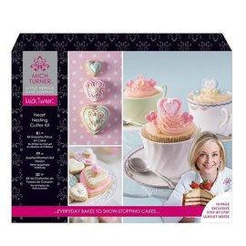 Une exclusivité Petite Venise Cake Company-SET: Hearts Sujet