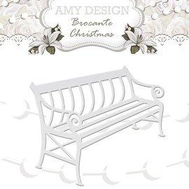 AMY DESIGN AMY DESIGN, Cutting en embossing stencils, nostalgische Bench