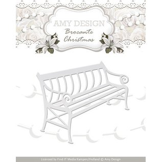 AMY DESIGN AMY DESIGN, Cutting and embossing stencils, nostalgic Bench