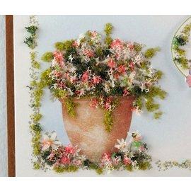 BASTELZUBEHÖR, WERKZEUG UND AUFBEWAHRUNG Flor suave, del color del otoño