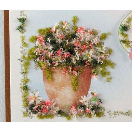 BASTELZUBEHÖR, WERKZEUG UND AUFBEWAHRUNG Flower Soft,  Blüten und Blätter Farbe
