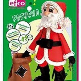 FOFUCHA Fofucha de Santa Claus: hojas de corte + manuales + pegatinas