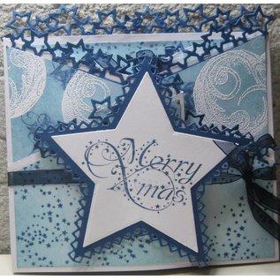 Marianne Design Taglio e goffratura stencil, confine con la stella
