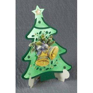 Exclusives Bastelset for 2 Christmas cards + card holder