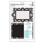Docrafts / X-Cut A4 emboss.templ - shaped frame