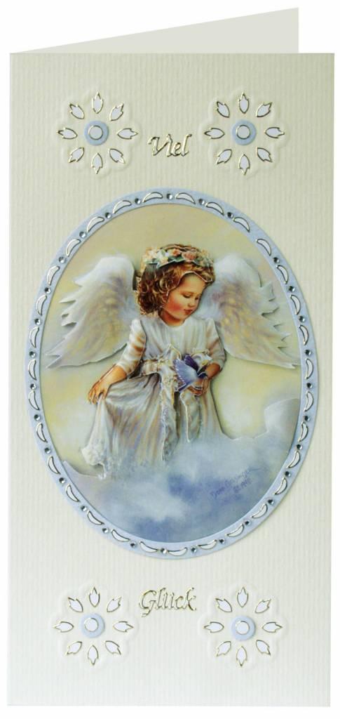 Пасхальные открытки скрапбукинг с ангелами, днем