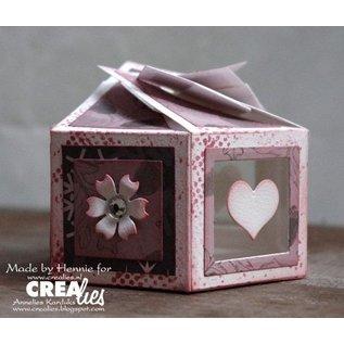 Craftemotions sechsseitige Box 7 x 14 cm