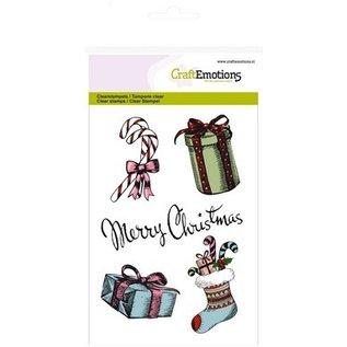 Craftemotions Motivi natalizi vintage, card design, scatole regalo e altro.