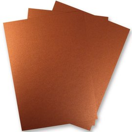 Karten und Scrapbooking Papier, Papier blöcke papel metálico de la hoja 3
