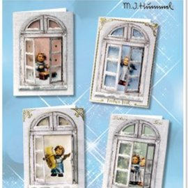 Joy!Crafts / Jeanine´s Art, Hobby Solutions Dies /  Bastelset vinduer cards MIHummel, engel