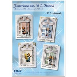 Joy!Crafts / Jeanine´s Art, Hobby Solutions Dies /  Bastelset windows cards MIHummel, angel