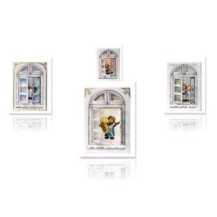 Joy!Crafts / Jeanine´s Art, Hobby Solutions Dies /  Bastelset ramen kaarten MIHummel, engel