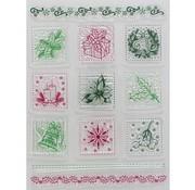 VIVA DEKOR (MY PAPERWORLD) Gennemsigtige frimærker, julemotiver