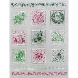 VIVA DEKOR (MY PAPERWORLD) Transparent stamps, Christmas motifs