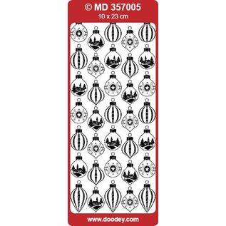 STICKER / AUTOCOLLANT Sticker, kerstbal