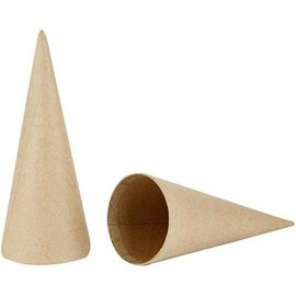 Objekten zum Dekorieren / objects for decorating Cone, H: 20 cm, 1 stk