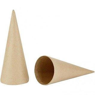 Objekten zum Dekorieren / objects for decorating Kegel, H: 20 cm, 1 stuk