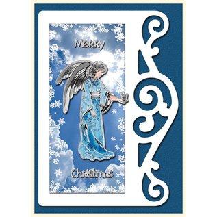 Bastelset: 4 Tarjetas de Navidad