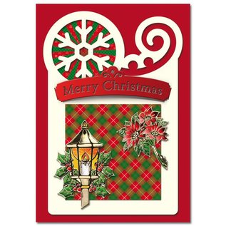 BASTELSETS / CRAFT KITS Bastelset: für 4  tolle Weihnachtskarten
