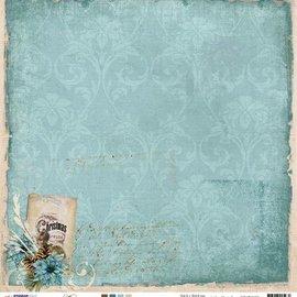 Designer Papier Scrapbooking: 30,5 x 30,5 cm Papier Diseñador Bow, 30,5 x 30,5 cm Invierno Recuerdos Nr03