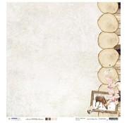 Designer Papier Scrapbooking: 30,5 x 30,5 cm Papier Designer Bow, 30.5 x 30.5cm sweet Winter Season NR02