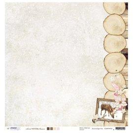 Designer Papier Scrapbooking: 30,5 x 30,5 cm Papier Designer Bow, 30,5 x 30,5 cm douce saison d'hiver NR02