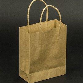 Objekten zum Dekorieren / objects for decorating 5 fuertes Mini artesanía Naturel bolsas de papel
