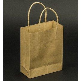 Objekten zum Dekorieren / objects for decorating 5 mini-forts artisanat Naturel sacs en papier