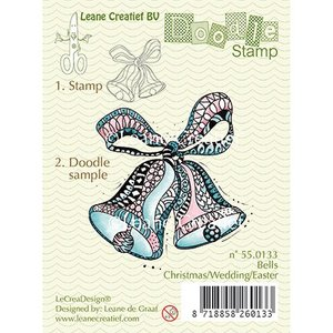 Leane Creatief - Lea'bilities und By Lene Tampons transparents, cloches Doodle