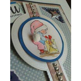 Nellie Snellen Ponsen en embossing sjabloon voor het ontwerp van diverse pop-up kaarten