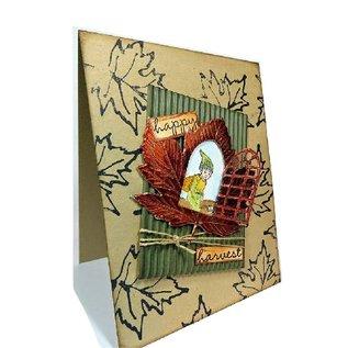 Spellbinders und Rayher Cutting en embossing stencils, metaal sjabloon Inspire, Natuurlijk frame