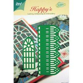 Joy!Crafts / Jeanine´s Art, Hobby Solutions Dies /  65% REDUZIERT! Stanz- und Prägeschablonen, Zierbordüre und Fenster
