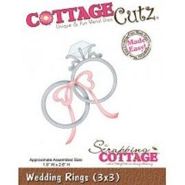 Cottage Cutz Taglio e goffratura stencil, fedi nuziali