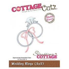 Cottage Cutz Couper et gaufrer des pochoirs, des anneaux de mariage
