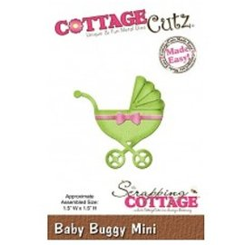 Cottage Cutz Snijden en embossingstencils CottageCutz, Topic: Baby