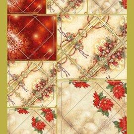 KARTEN und Zubehör / Cards Excellente idée! Mini-enveloppes avec des bougies et des motifs de poinsettia