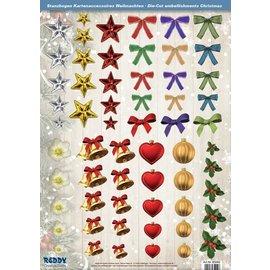 Embellishments / Verzierungen Ottima idea! Fogli singoli Die con accessori in carta 250g magazzino, A4