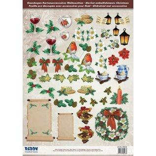 Embellishments / Verzierungen Geweldig idee! Die losse vellen met accessoires van 250g karton, A4