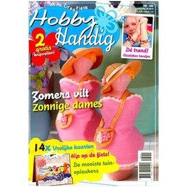 Bücher, Zeitschriften und CD / Magazines A4 Bastelzeitschrift: Hobby Handig NL