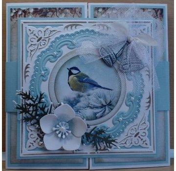 Marianne Design Taglio e goffratura stencil, 2 e 1 cornice Candelabro