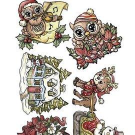 Yvonne Creations sello transparente, Yvonne creaciones, Weihnachtsmotive linda