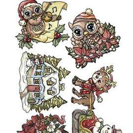 Yvonne Creations Transparent stamps, Yvonne Creations, cute Christmas motifs