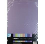 Karten und Scrapbooking Papier, Papier blöcke Carta Pearl A4, 8 fogli
