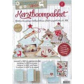 Objekten zum Dekorieren / objects for decorating selber Weihnachtsdeko basteln  für Ihr Zuhause. MDF Bastelset Weihnachtsbäumen