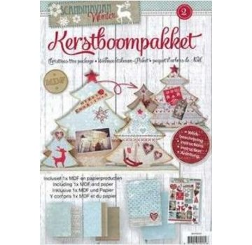 Objekten zum Dekorieren / objects for decorating MDF Bastelset Christmas trees