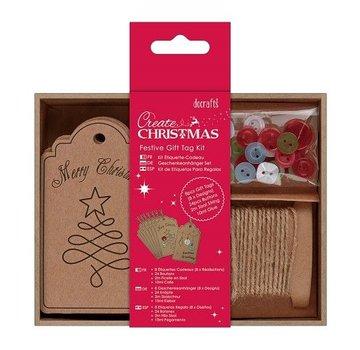Komplett Sets / Kits Bastelset per la progettazione di Etichette da regalo di Natale
