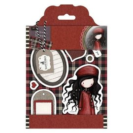 Gorjuss / Santoro Rubber stamp, Gorjuss, Santoro Tweed - Nuit de L'Hiver